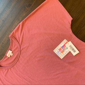LuLaRoe Maria Maxi Dress Dusty Rose Size XL
